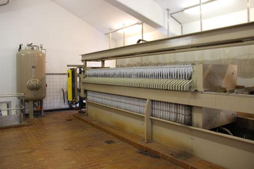 Kammerfilterpresse